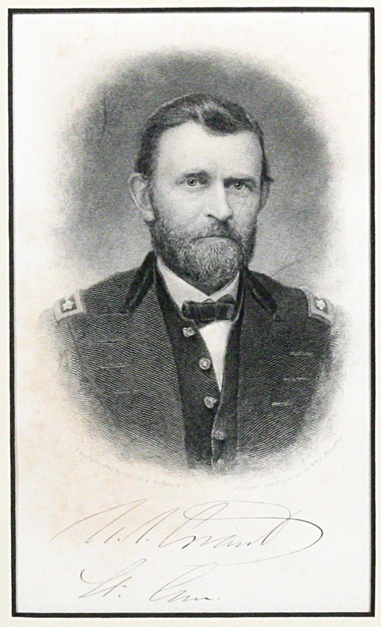 Ulysses S. Grant, Autograph Letter Signed Mentioning Gettysburg In Good Condition For Sale In New York, NY