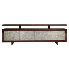 Luma Contemporary Sideboard in Metal Textured by Luísa Peixoto