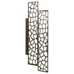 Uma Screen B in Bronze Finish by Roberto Cavalli Home Interiors