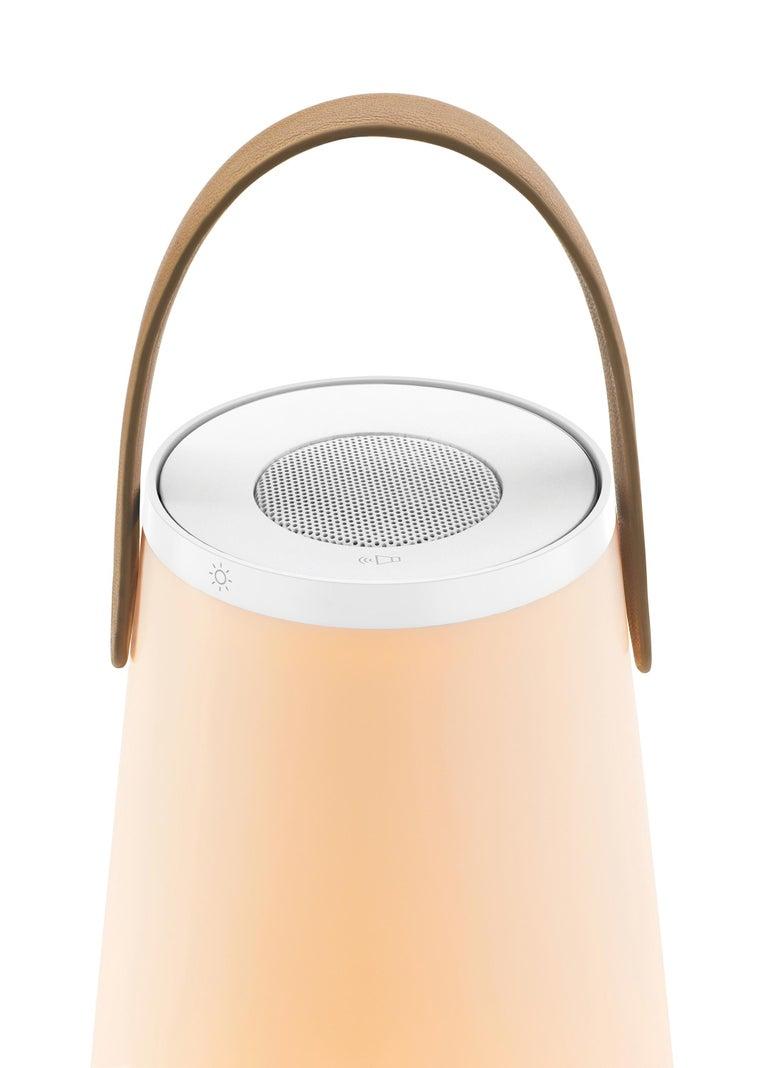 Uma Sound Lantern in White by Pablo Designs 3