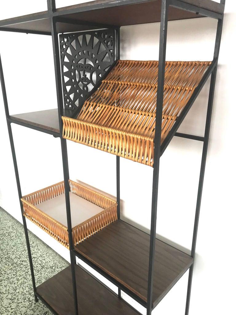 20th Century Umanoff Bookshelf Bookshelf by Shaver Howard For Sale