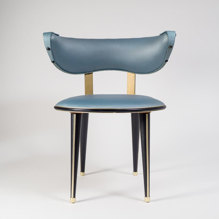 Umberto Mascagni Vanity Chair, circa 1960 For Sale 2