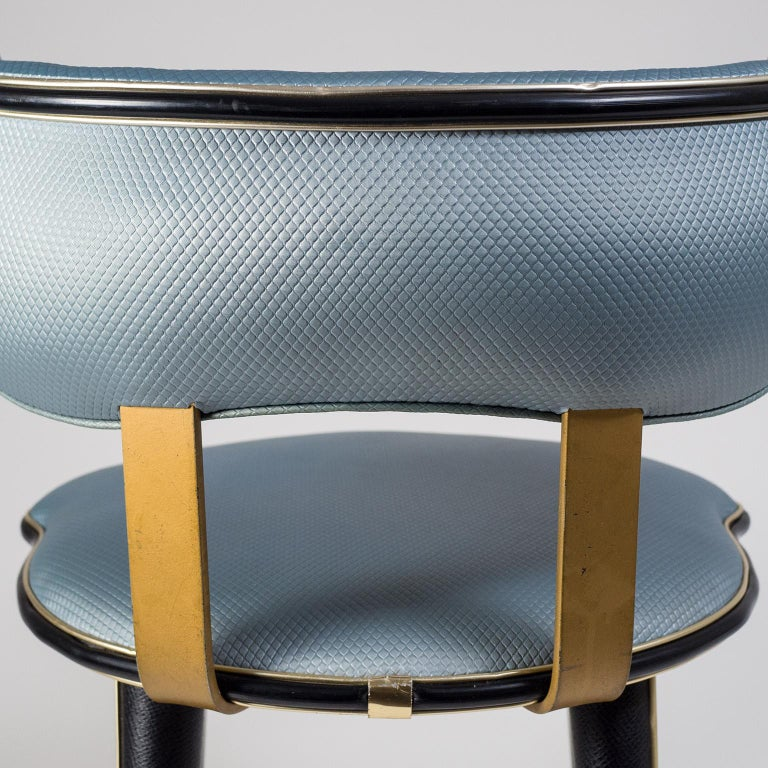 Mid-20th Century Umberto Mascagni Vanity Chair, circa 1960 For Sale
