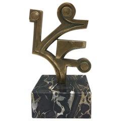 Umberto Mastroianni Attributed Bronze Sculpture, Italy, 1970s