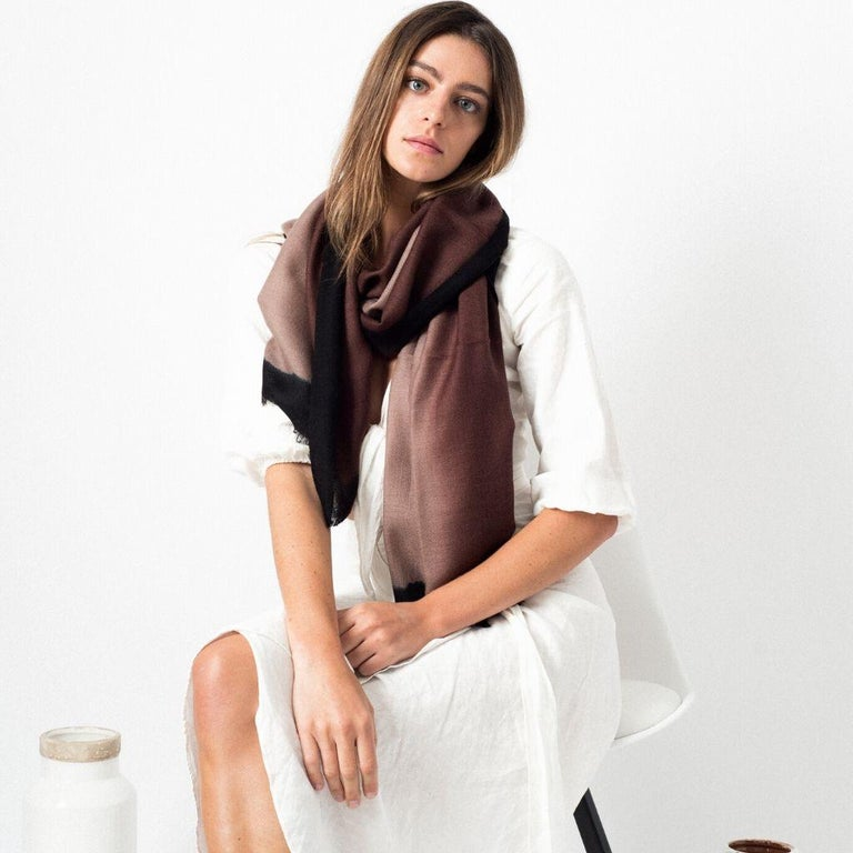 Custom design by Studio Variously, Umbra Mink is a luxurious statement piece carefully handmade by artisans in Nepal.  A sustainable design brand based out of Michigan, Studio Variously exclusively collaborates with artisan communities to restore &