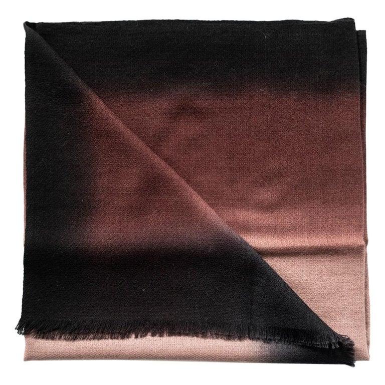 UMBRA MINK Cashmere Scarf / Wrap  For Sale