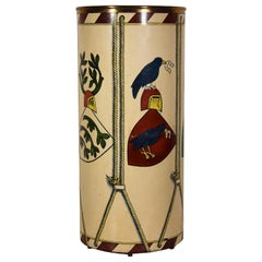 "Umbrella Stand ""Tamburo"" by Piero Fornasetti, 1955"