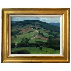 Umbrian Landscape Painting by Bryan Mark Taylor