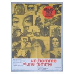 Un Homme Et Une Femme '1966' Poster