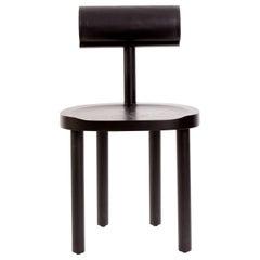 Una Black Chair by Estudio Persona