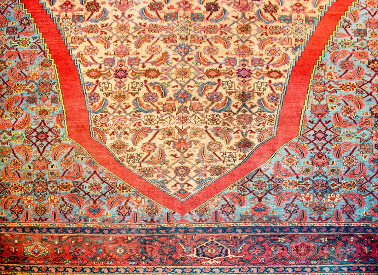 Persian Unbelievable Early 20th Century Bakshaish Rug For Sale