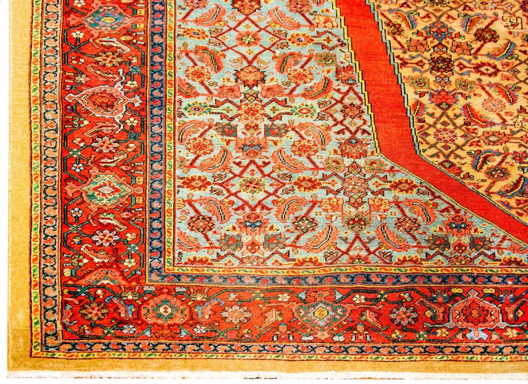 Vegetable Dyed Unbelievable Early 20th Century Bakshaish Rug For Sale