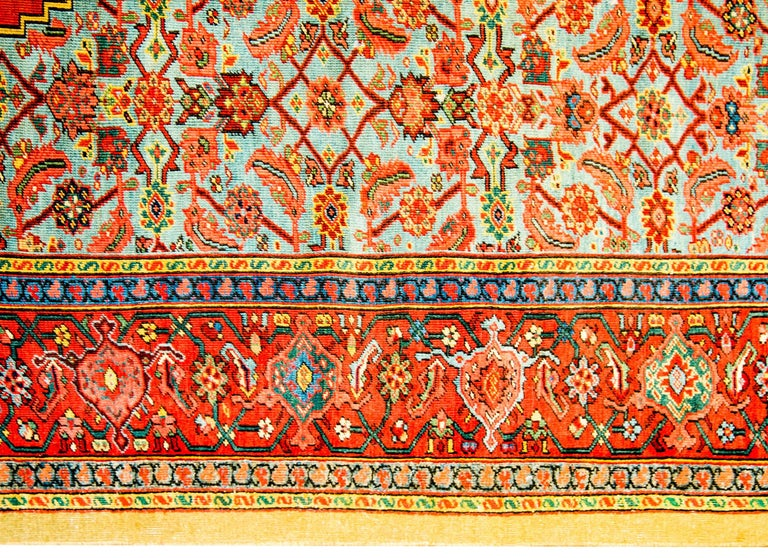 Unbelievable Early 20th Century Bakshaish Rug In Good Condition For Sale In Chicago, IL