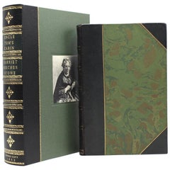 """""""Uncle Tom's Cabin"""" with Harriet Beecher Stowe's Signature, Early Edition, 1853"""