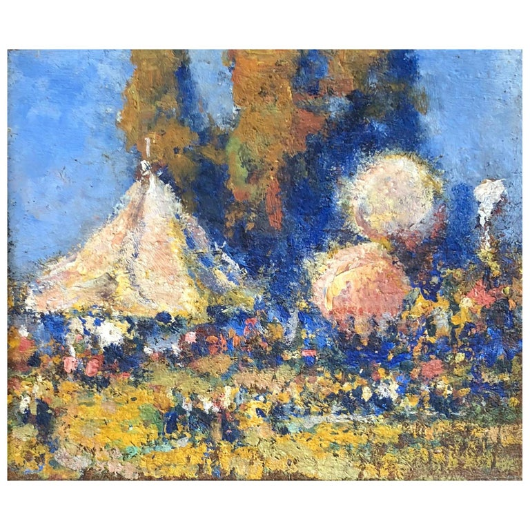 """""""Under the Big Top"""" by John Huffington For Sale"""