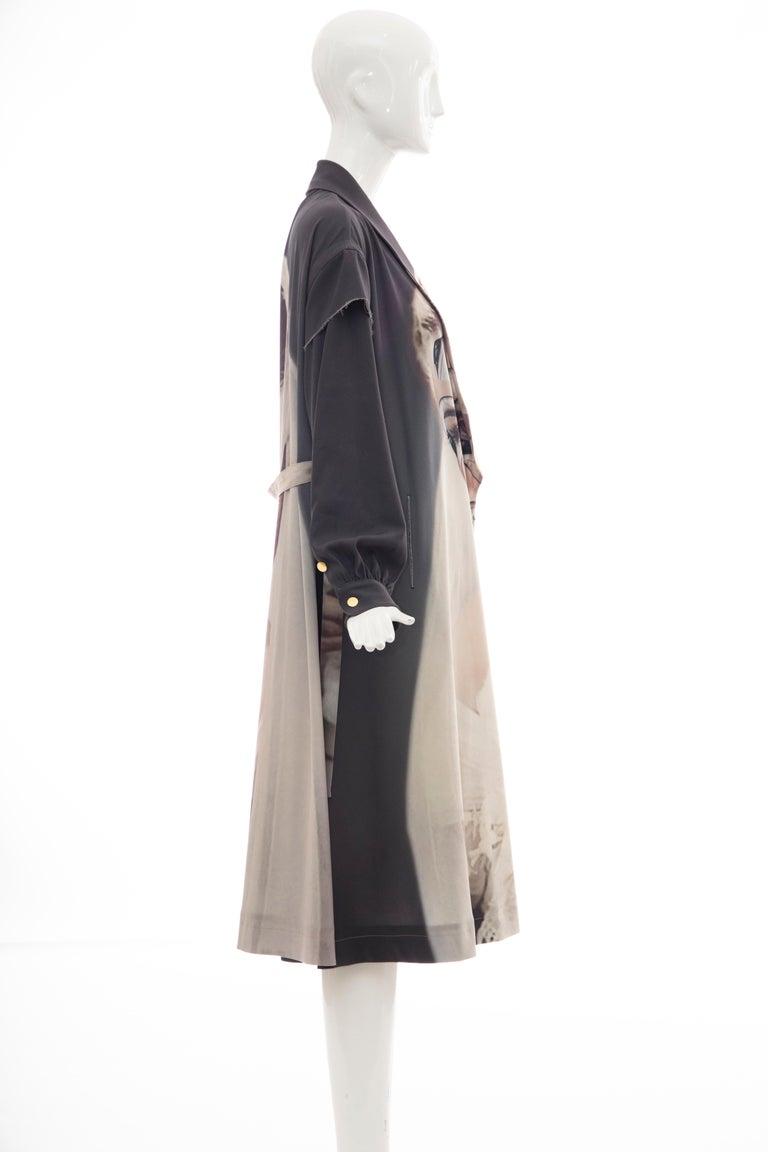 Undercover Jun Takahashi Collage Artist Matthieu Bourel Print Coat, Fall 2016 For Sale 5