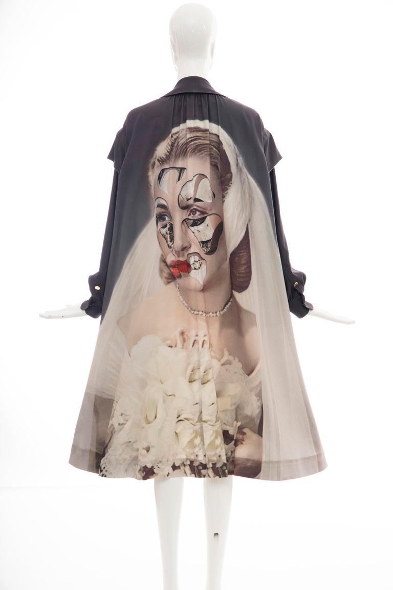 Undercover Jun Takahashi Collage Artist Matthieu Bourel Print Coat, Fall 2016 For Sale 8