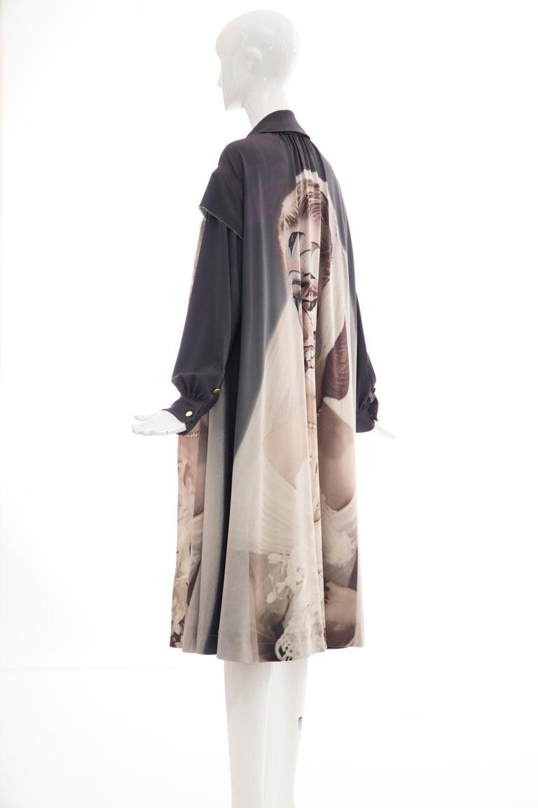 Undercover Jun Takahashi Collage Artist Matthieu Bourel Print Coat, Fall 2016 For Sale 9
