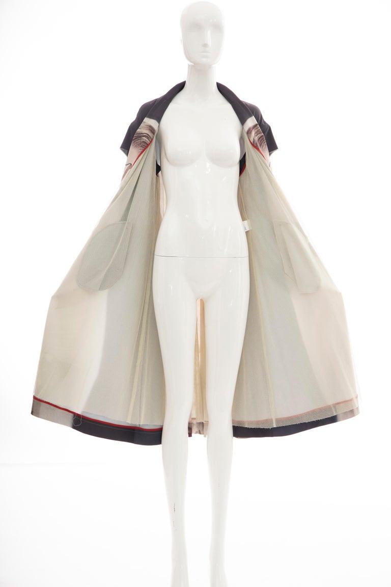 Undercover Jun Takahashi Collage Artist Matthieu Bourel Print Coat, Fall 2016 For Sale 13