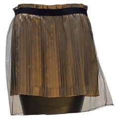 Undercover Pleated Mini Skirt
