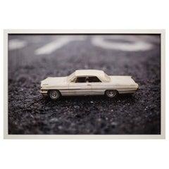 Unframed Original Photograph of Model Car by Luke Anthony, 2017
