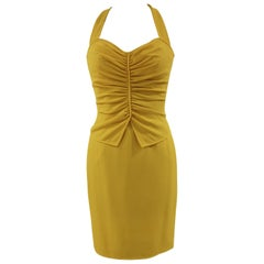 Ungaro Yellow cupro Dress