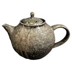 Unglazed Tea Pot by Toru Hatta