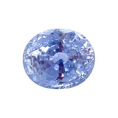 Unheated 17.13 Ct. Ceylon Violet Blue Sapphire GIA Unset Pendant, Enhancer Gem