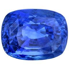 Unheated 22.26 ct. Ceylon Blue Sapphire, GIA, Loose Pendant, Collector Gemstone