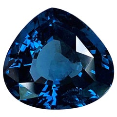 Unheated 5.02 ct. Blue Spinel GIA, Unset Engagement Ring, Pendant Necklace Gem