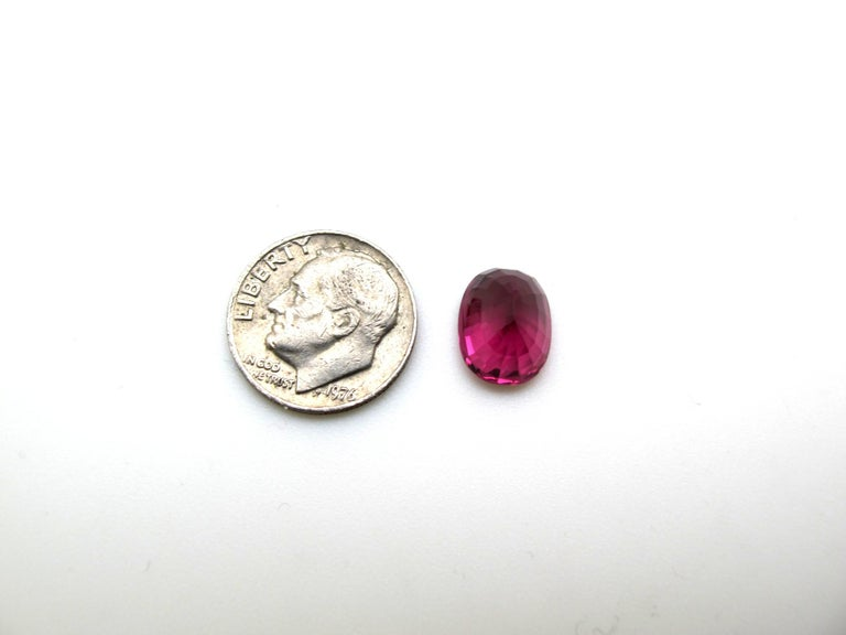 Women's or Men's Unheated 5.18 Carat Spinel, GIA Certified For Sale