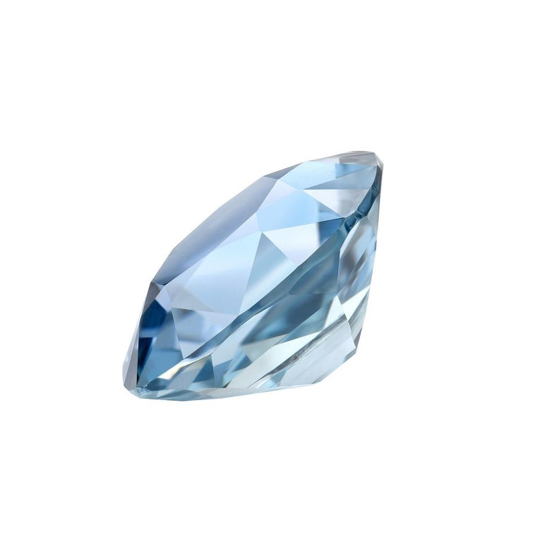 Unique, one-of-a-kind metallic grayish blue unheated Burma 4.67 carat Sapphire cushion. This spectacular gem is a fantastic choice for a unisex engagement or cocktail custom ring. AGL certificate is attached in the image scroll for your convenience.