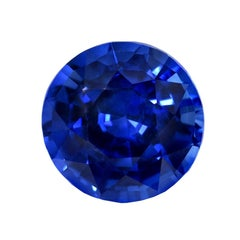 Unheated Burma Sapphire Ring Gem 3.01 Carat Royal Blue No Heat Loose Gemstone