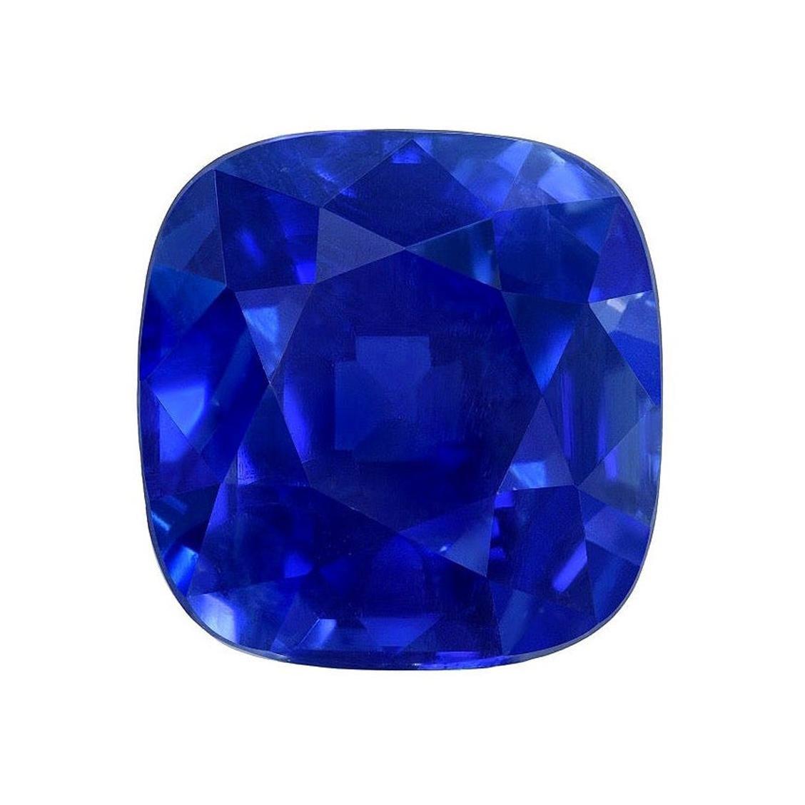 Unheated Kashmir Sapphire Ring Gem 3.34 Carat AGL Certified Loose Gemstone