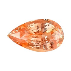 Unheated Padparadscha Sapphire GRS Certified 6.26 Carat Natural