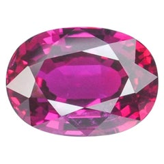 Unheated Ruby Ring Gem 3.04 Carat No Heat