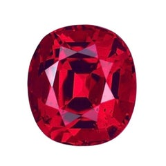 Unheated Ruby Ring Gem 3.17 Carat GIA Certified Natural No Heat Loose Gemstone