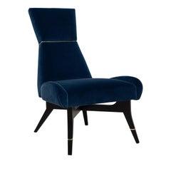 Uni Blue Chair by Matì
