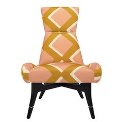 Uni Special Edition of the Diamonds Chair by Pierre Frey by Matì