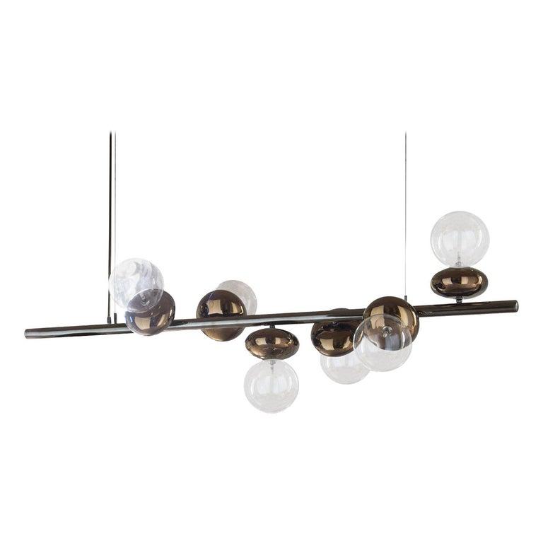 Unica Linear Suspension Lamp For Sale