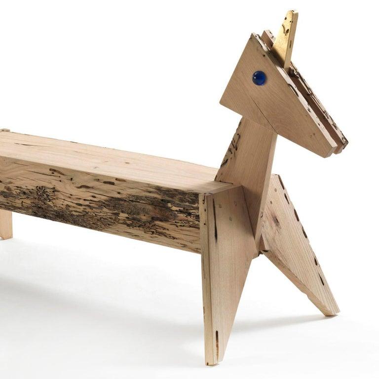 Italian Unicorn Bench For Sale