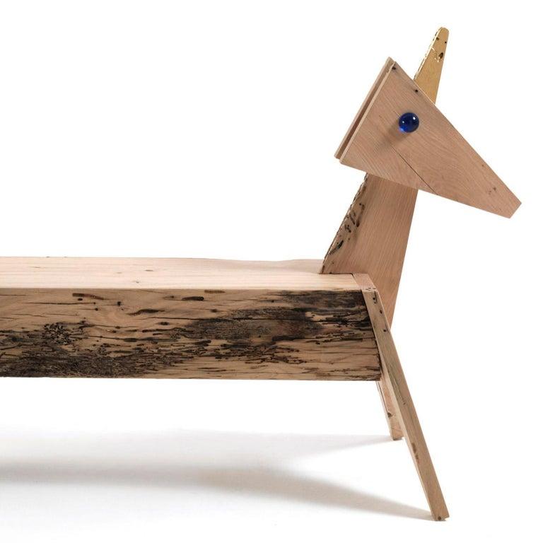 Contemporary Unicorn Bench For Sale