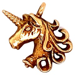 Unicorn Charm in 14 Karat Gold