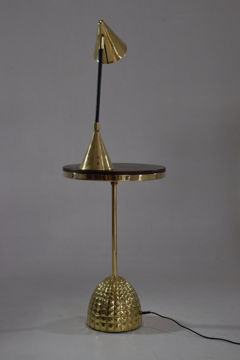 Unio 1-2 Contemporary Handcrafted Wireless Brass Lamp For Sale 3