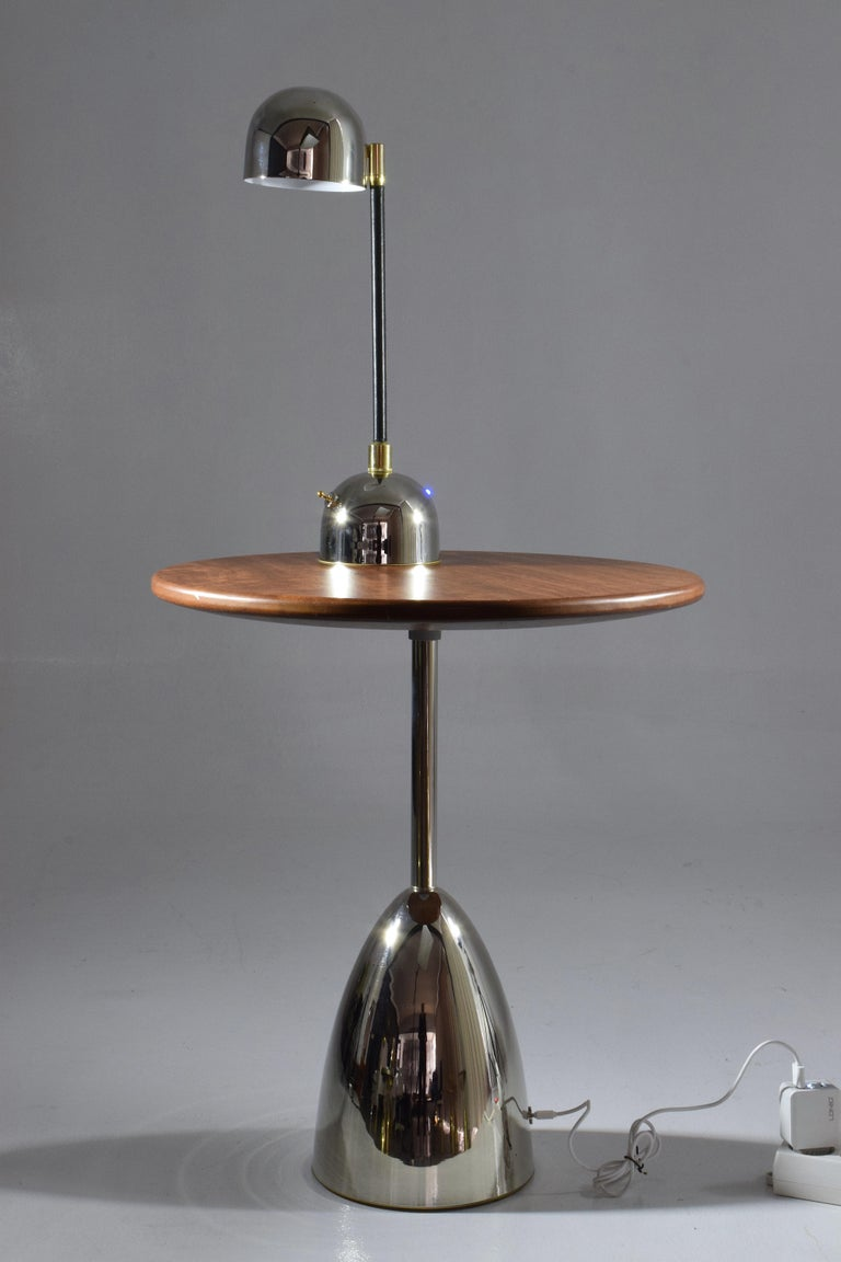 Unio Contemporary Brass Charging Table Flow Collection