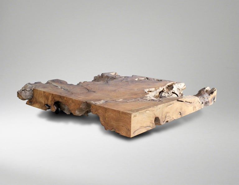French Unique and Exceptionally Large Contemporary Coffee Table by Jerome Abel Seguin For Sale