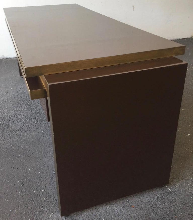 Unique and Important Philippe Jean Executive Desk, Signed For Sale 4