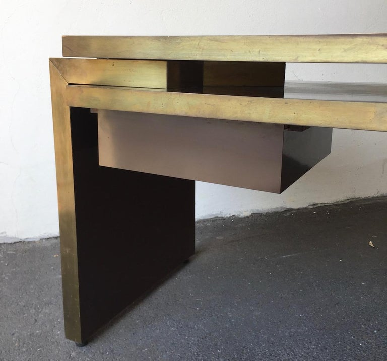 Unique and Important Philippe Jean Executive Desk, Signed For Sale 6