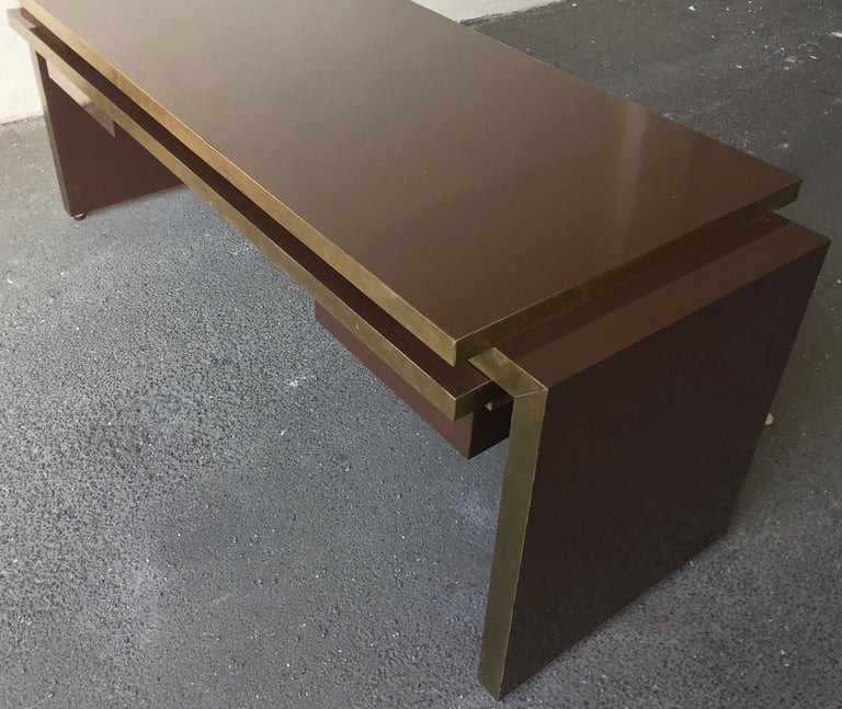 Unique and Important Philippe Jean Executive Desk, Signed For Sale 2