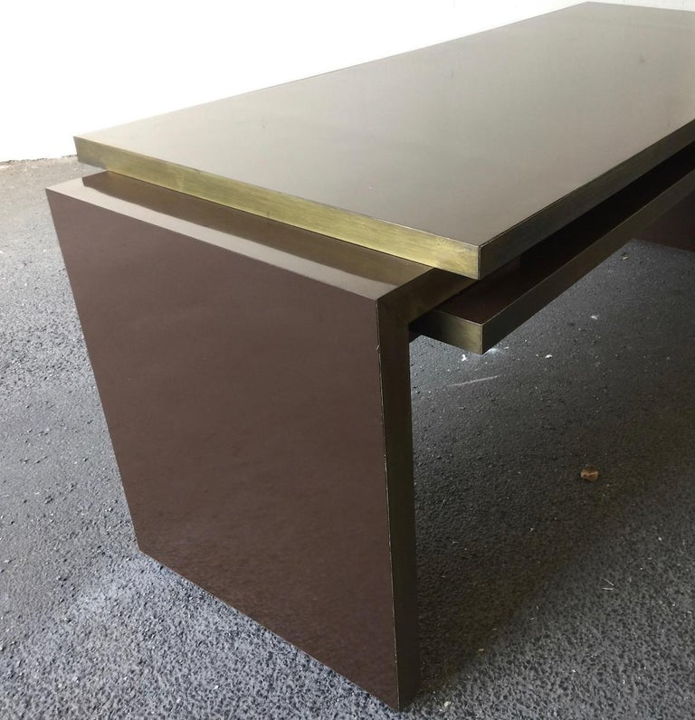 Unique and Important Philippe Jean Executive Desk, Signed For Sale 3